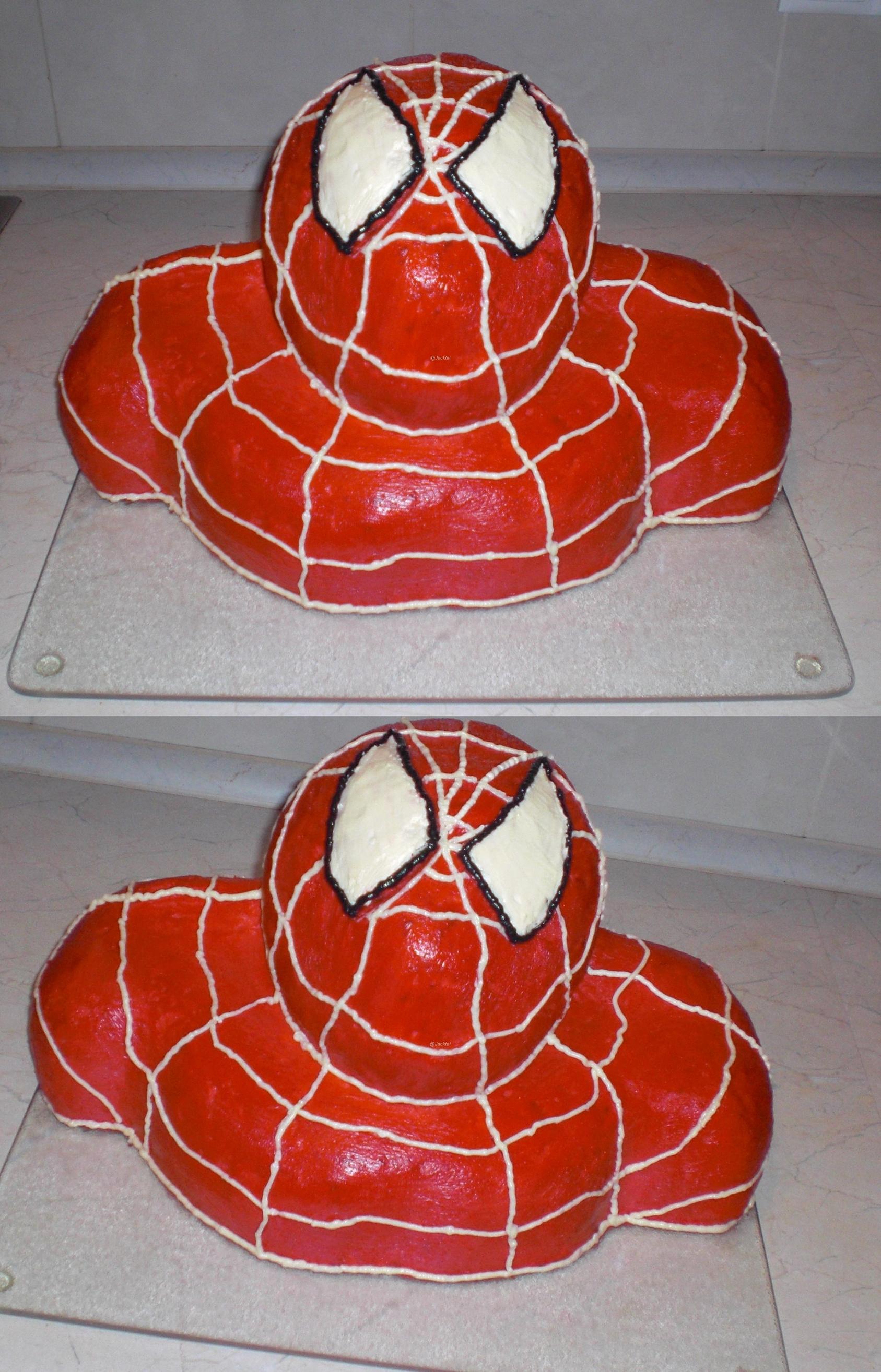 Spiderman Torte Ich Koche Vegetarisch Und Vegan